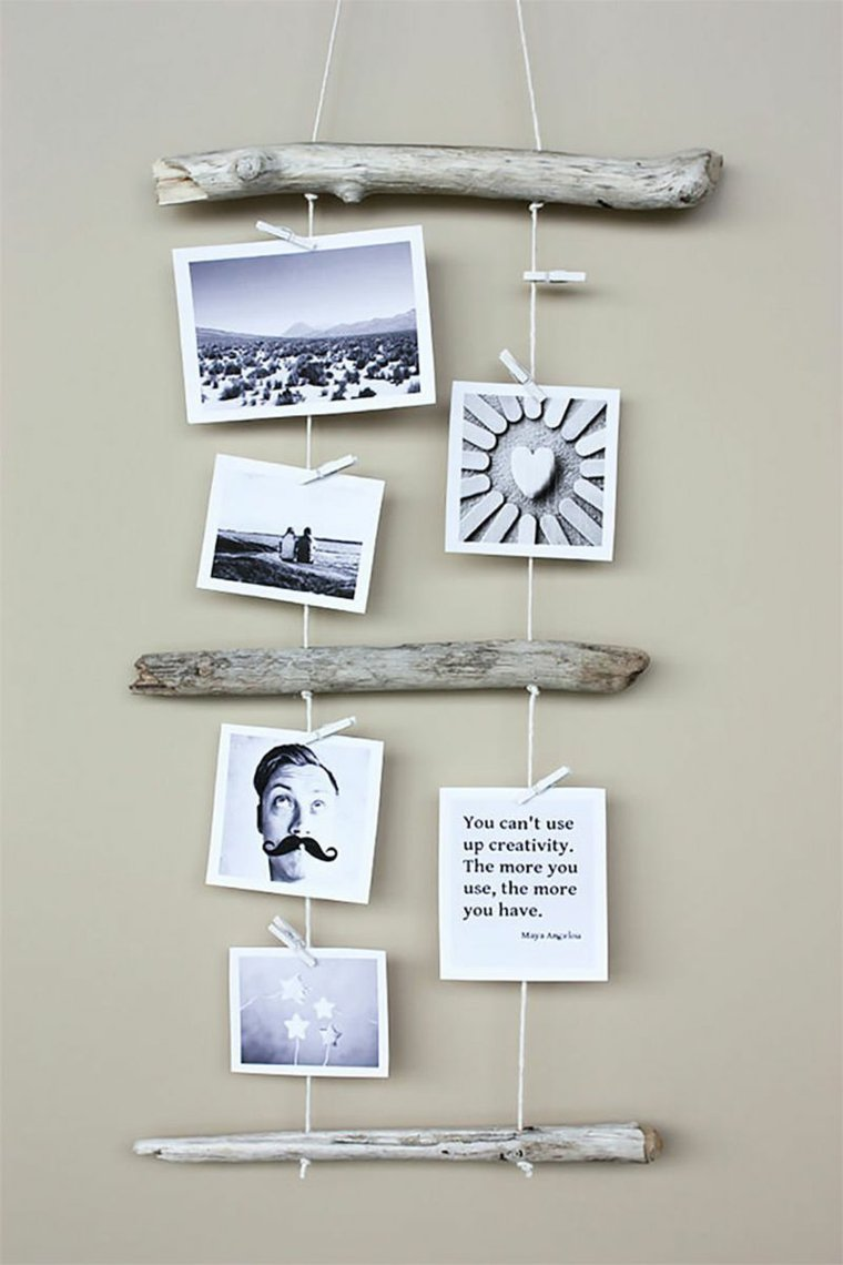 creative ideas to display pictures13