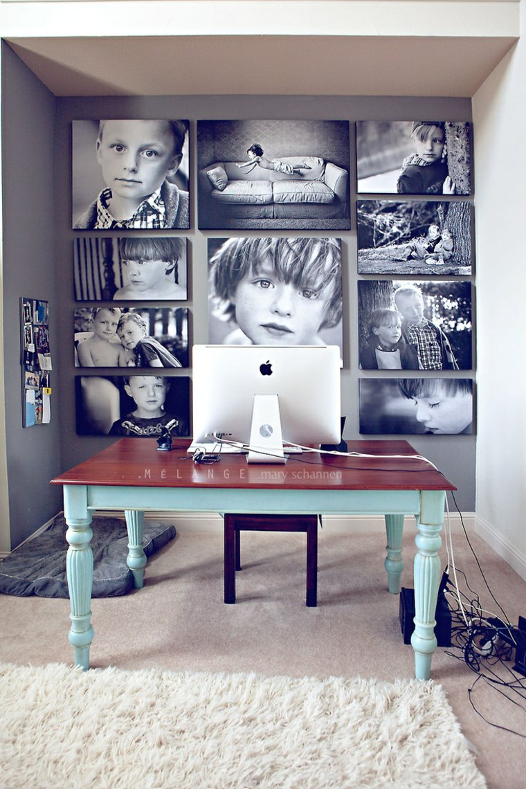 creative ideas to display pictures23