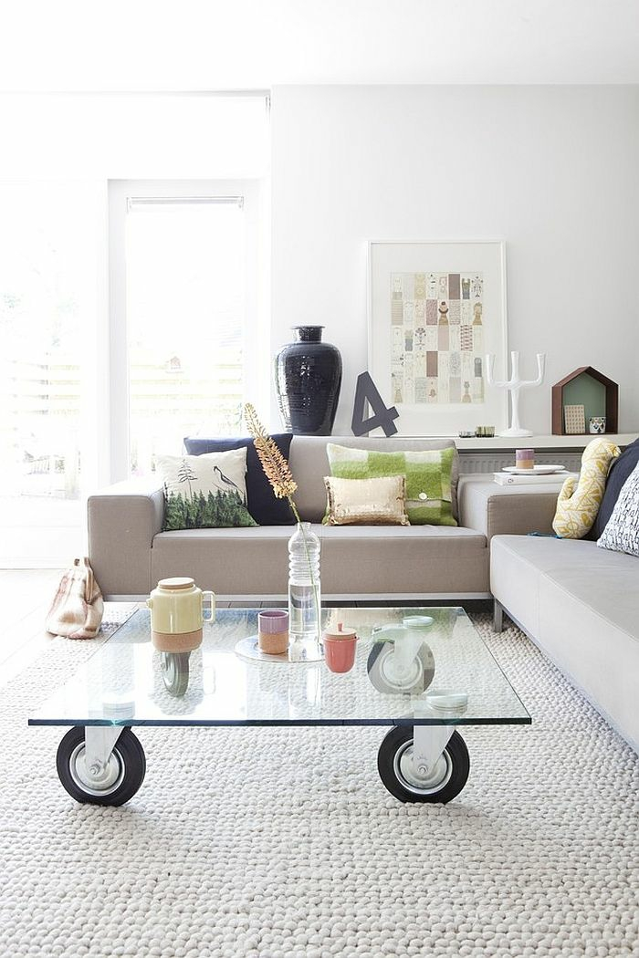 diy coffee tables with casters (11)