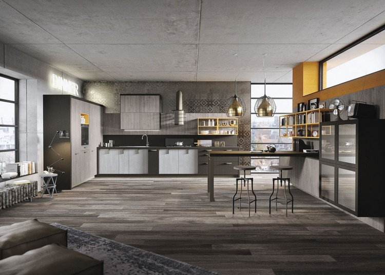 industrial kitchen ideas (1)