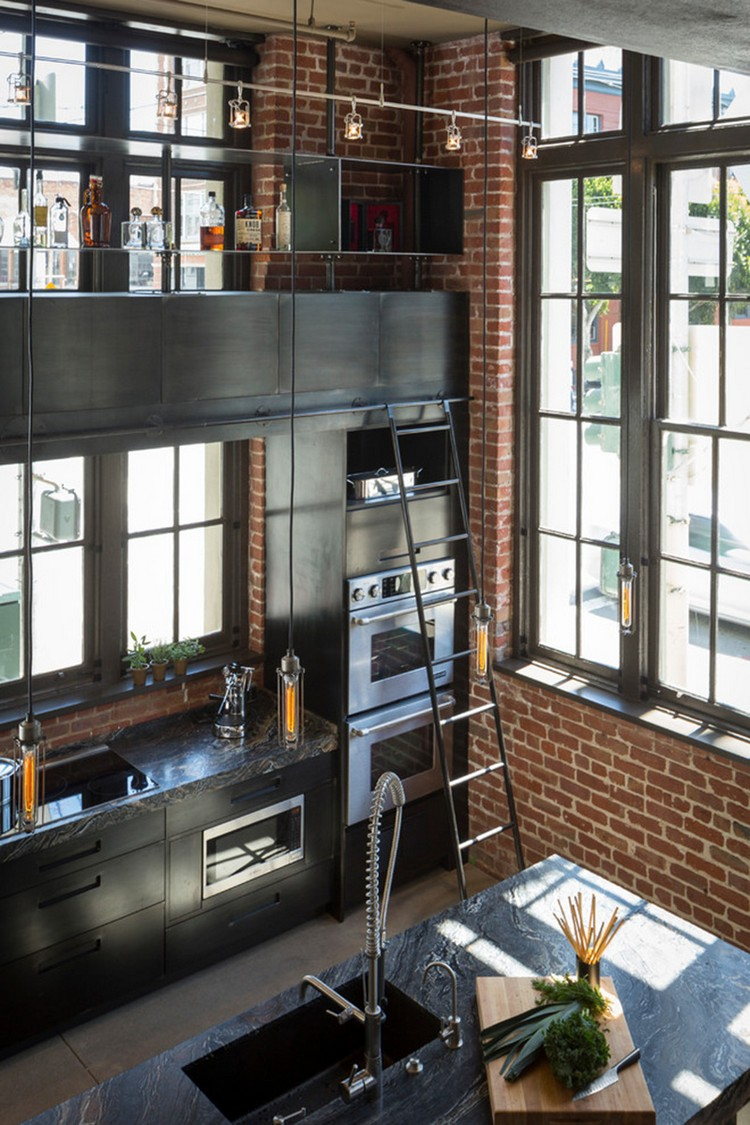 industrial kitchen ideas (13)