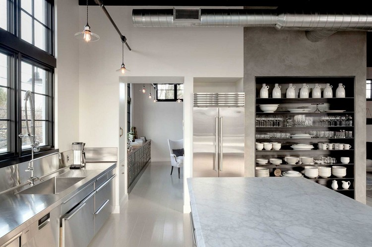 industrial kitchen ideas (14)