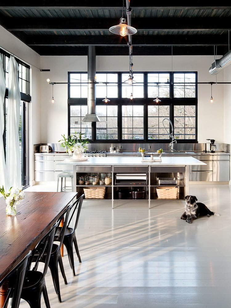 industrial kitchen ideas (15)