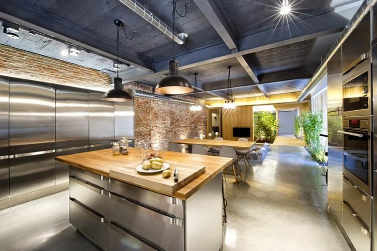 industrial kitchen ideas (18)