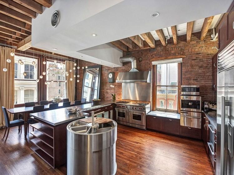 industrial kitchen ideas (21)