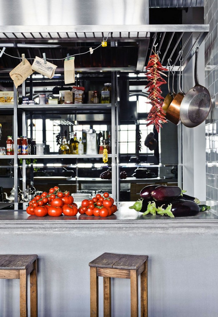 industrial kitchen ideas (24)