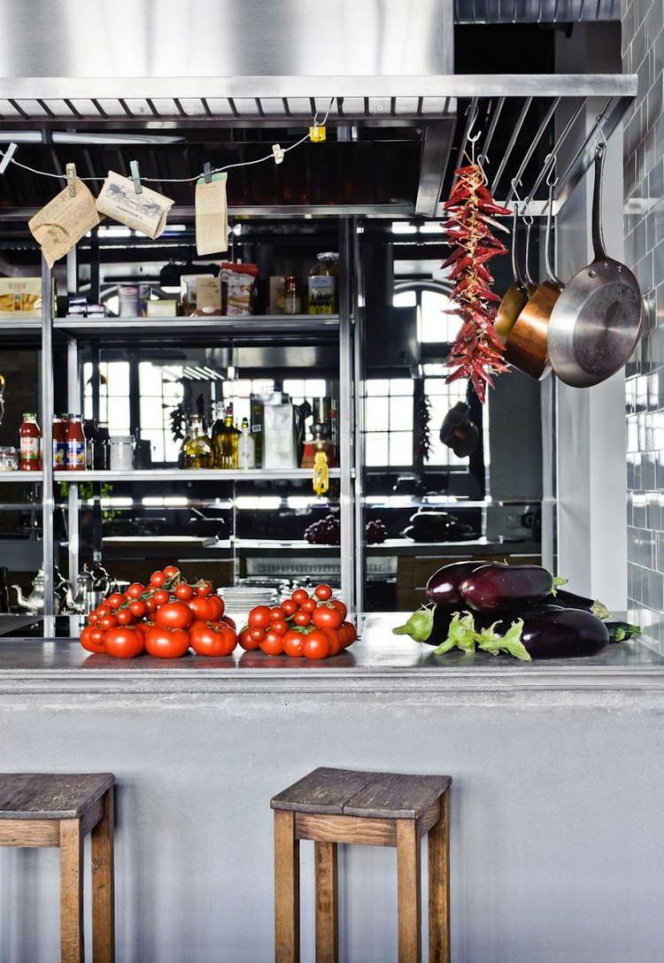 industrial kitchen ideas (24)
