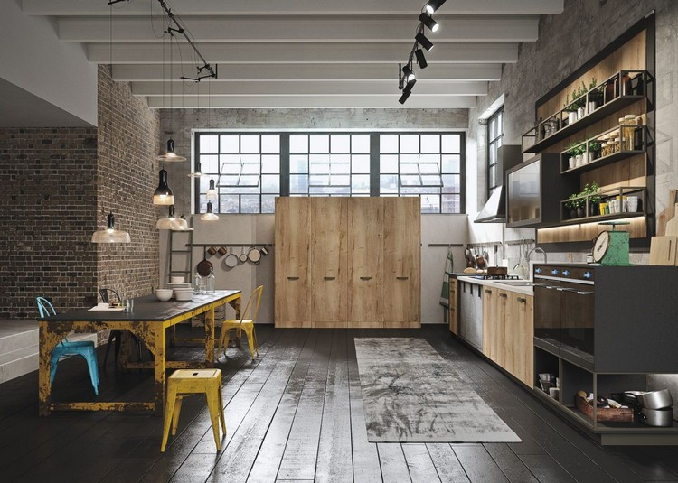 industrial kitchen ideas (3)