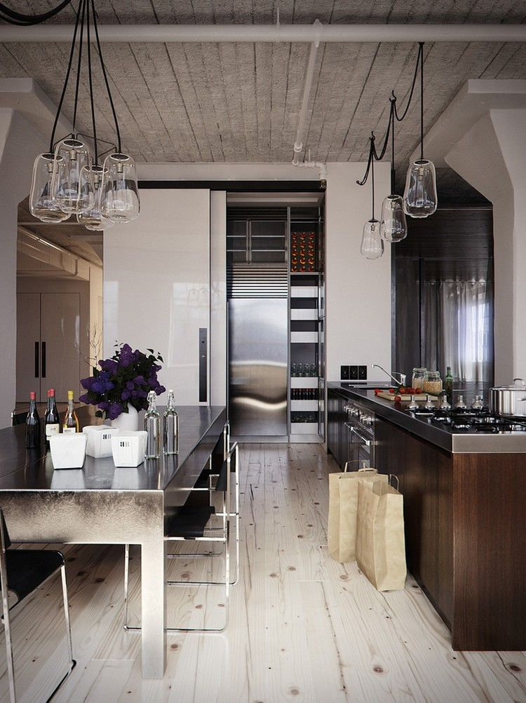 Modern Industrial Kitchen In 44 Awesome Photos