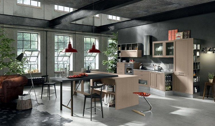 industrial kitchen ideas (40)