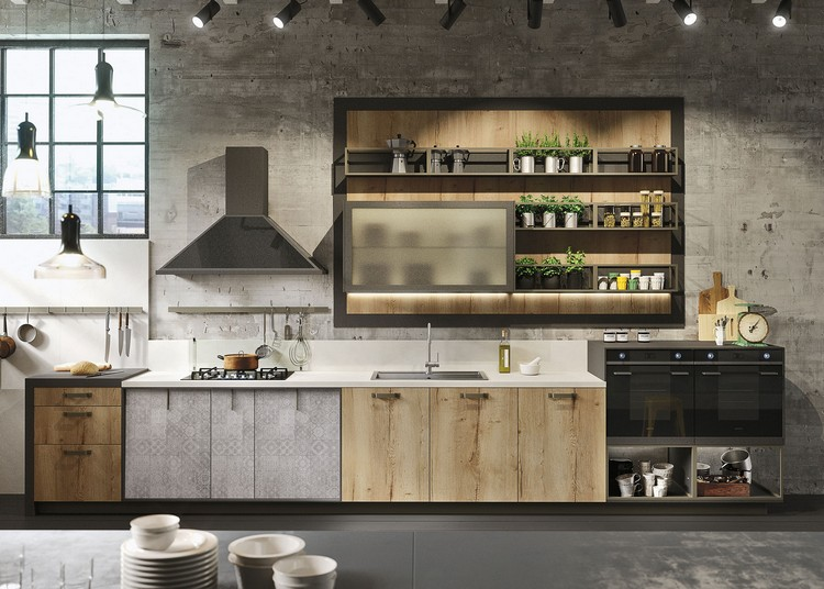 industrial kitchen ideas (42)