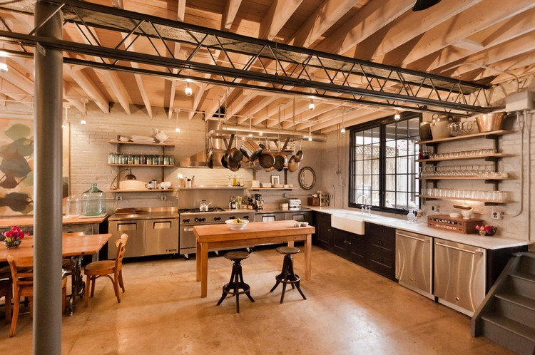 industrial kitchen ideas (7)