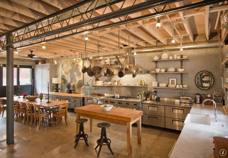industrial kitchen ideas (9)