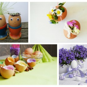 Diy Easter decoration ideas with Easter eggs