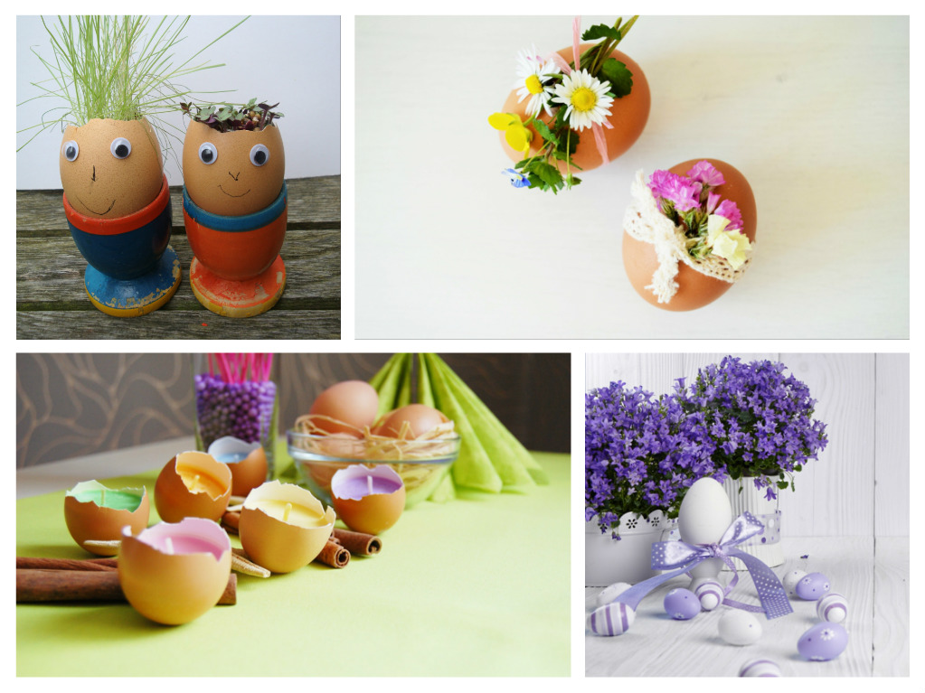 50 diy easter decoration ideas with easter eggs and fine for How to make easter decorations for the home