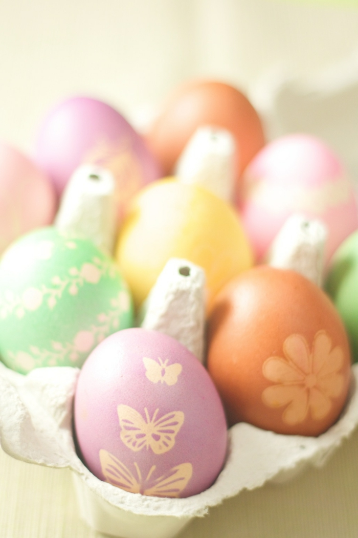 Diy Easter decoration ideas with Easter eggs10