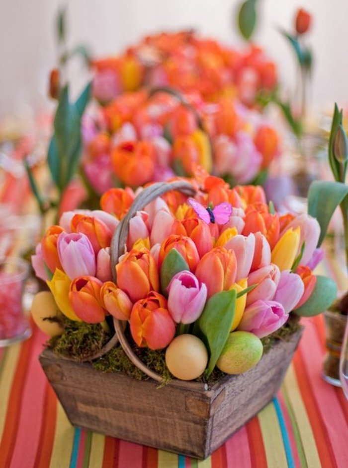 Diy Easter decoration ideas with Easter eggs18
