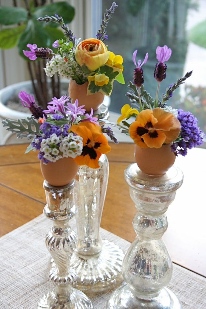 Diy Easter decoration ideas with Easter eggs21