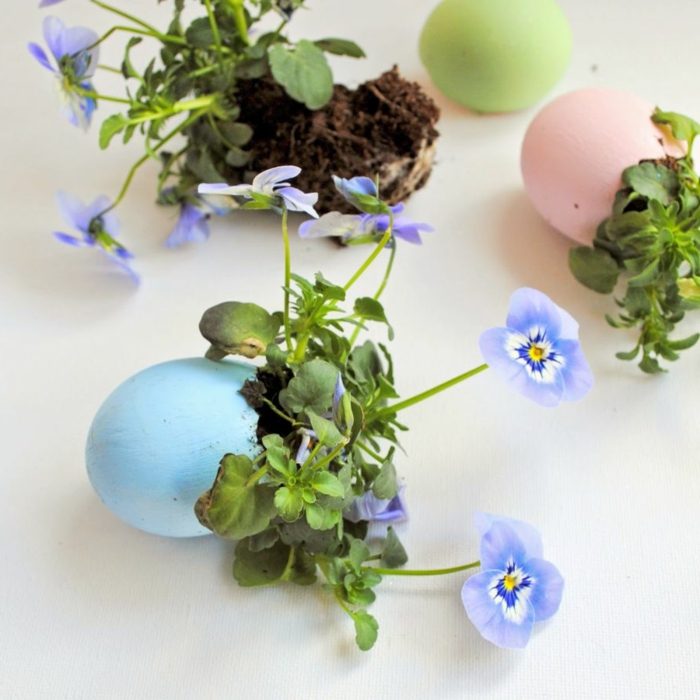 Diy Easter decoration ideas with Easter eggs22