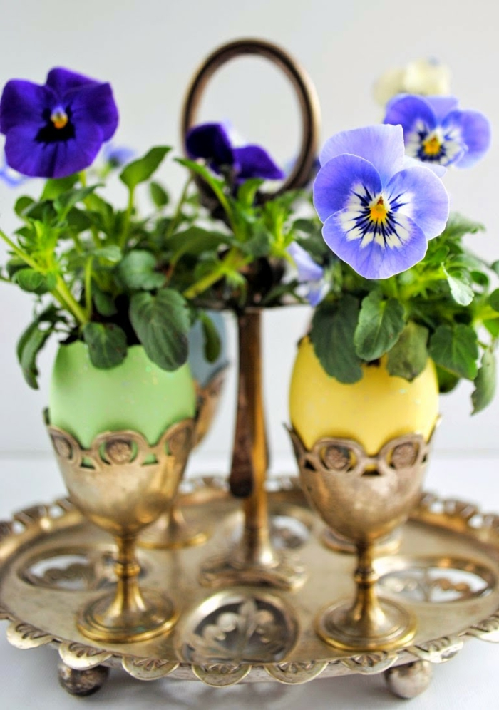 Diy Easter decoration ideas with Easter eggs24