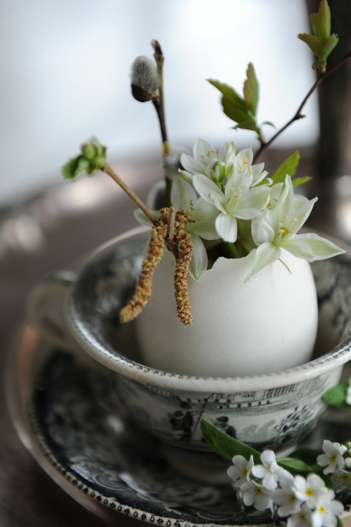 Diy Easter decoration ideas with Easter eggs33