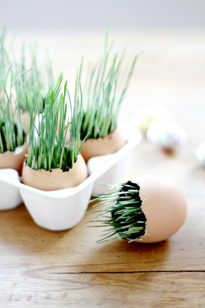 Diy Easter decoration ideas with Easter eggs35