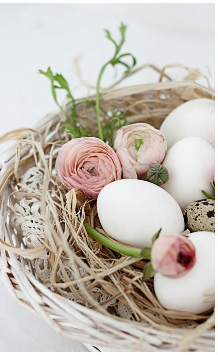 Diy Easter decoration ideas with Easter eggs42