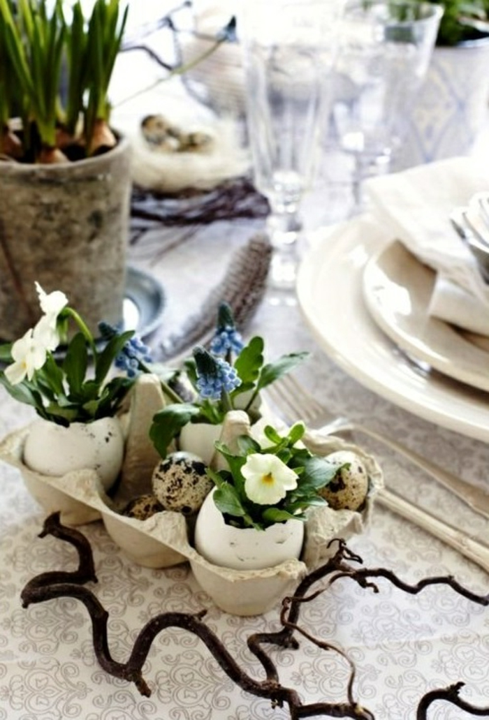 Diy Easter decoration ideas with Easter eggs45