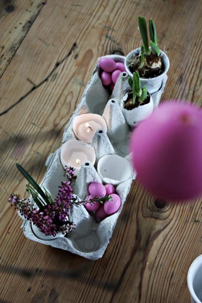 Diy Easter decoration ideas with Easter eggs48