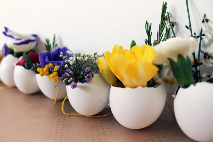 diy easter decoration ideas with easter eggs5 - Easter Decoration