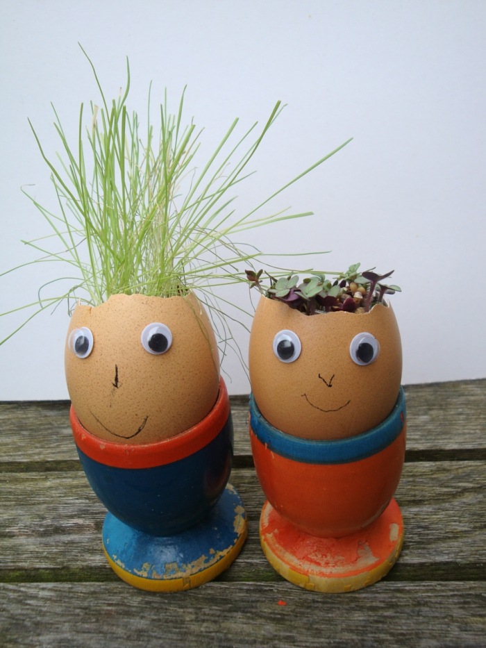 Diy Easter decoration ideas with Easter eggs6