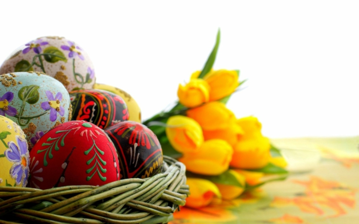 Diy Easter decoration ideas with Easter eggs7