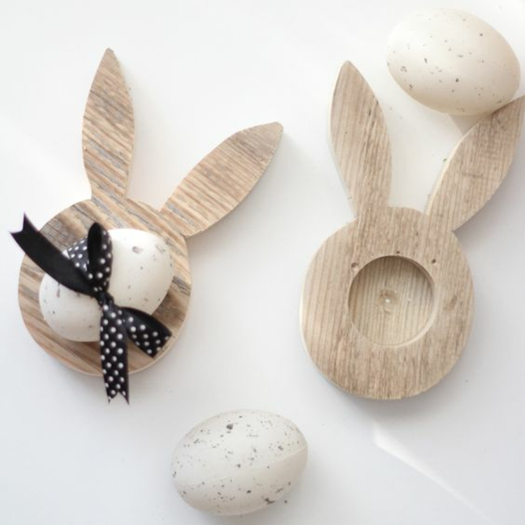 Easter decorations made of wood14