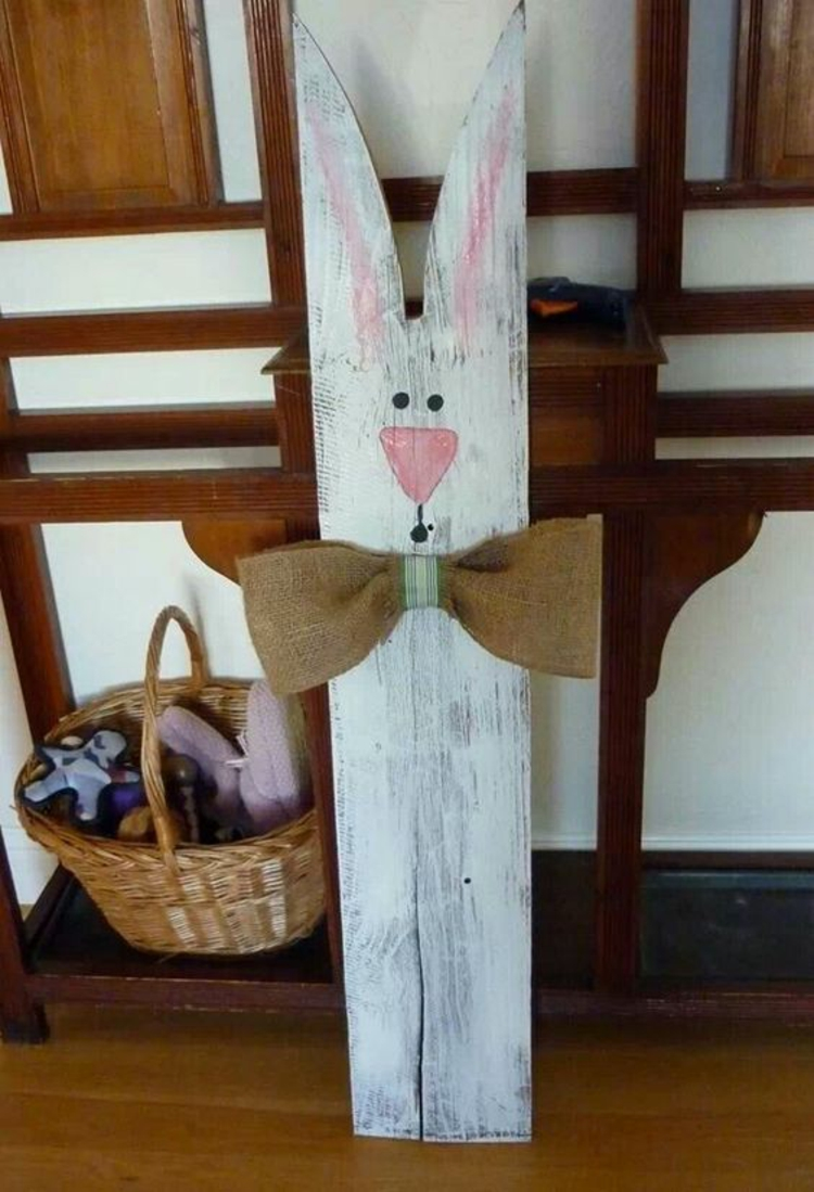 Easter decorations made of wood16