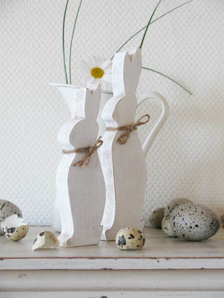 Easter decorations made of wood20