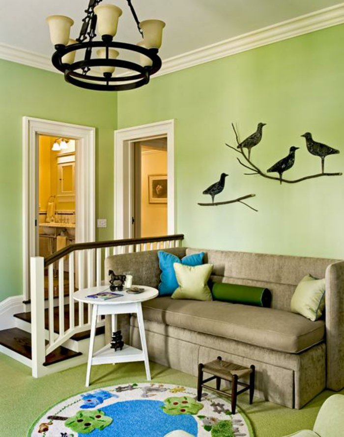 Famous Light Green Paint Colors Walls Contemporary - Wall Art Design ...