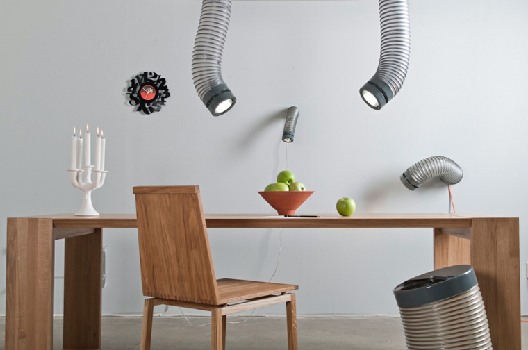 Throat Industrial style lamp6