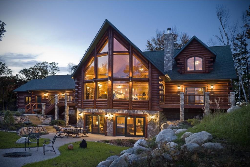 Rustic houses46
