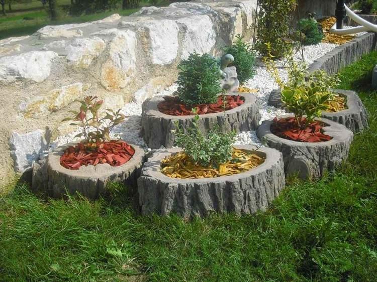 Concrete garden jardinières (21)