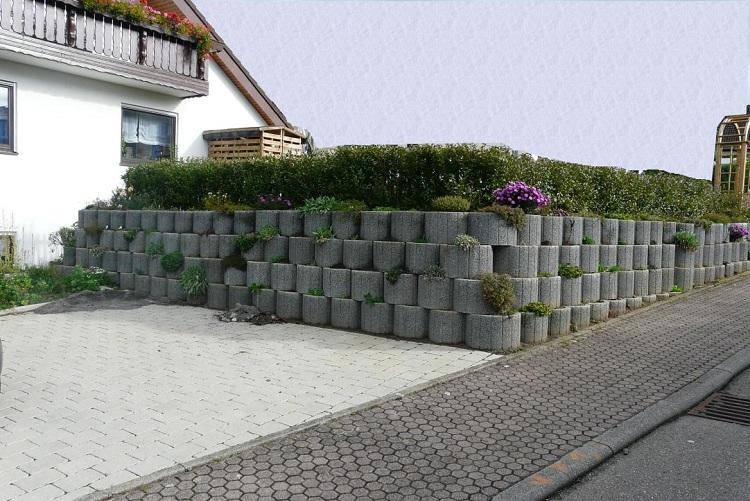 Concrete garden jardinières (15)