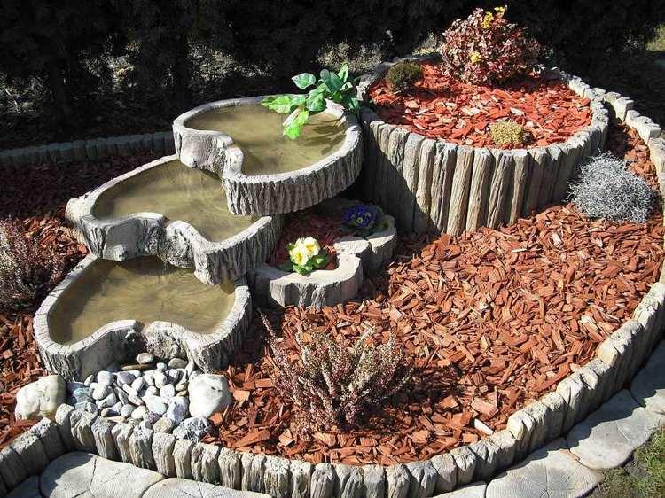 Concrete garden jardinières (16)