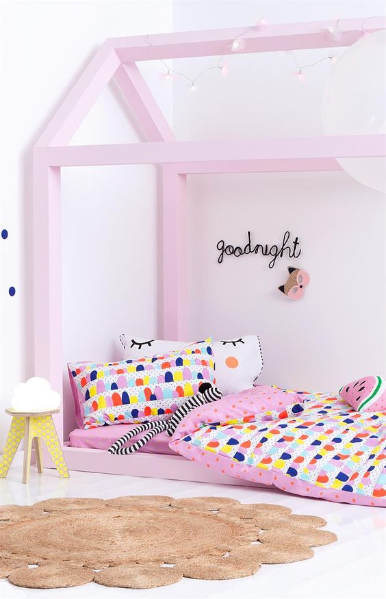Mini Children's bed ideas50