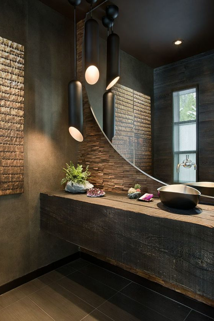 How to create a zen bathroom our tips in pictures my desired home - Deco salle de bain vintage ...