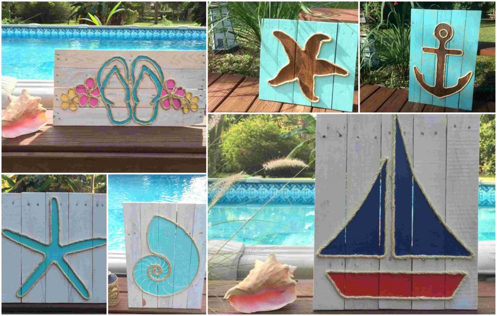 wooden exterior decoratives for summer