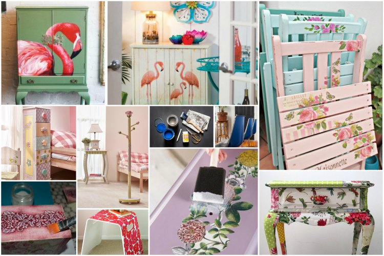 Furniture Decoupage
