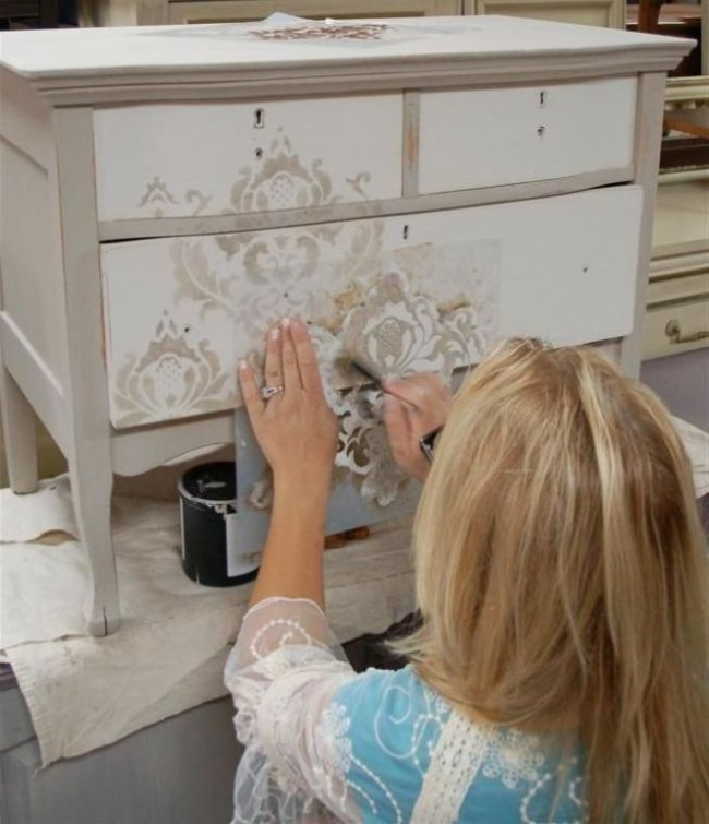 Furniture Decoupage: 30+ ideas and master classes to ...
