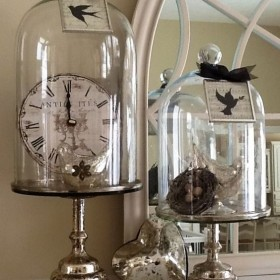 Glass domes decoration ideas1