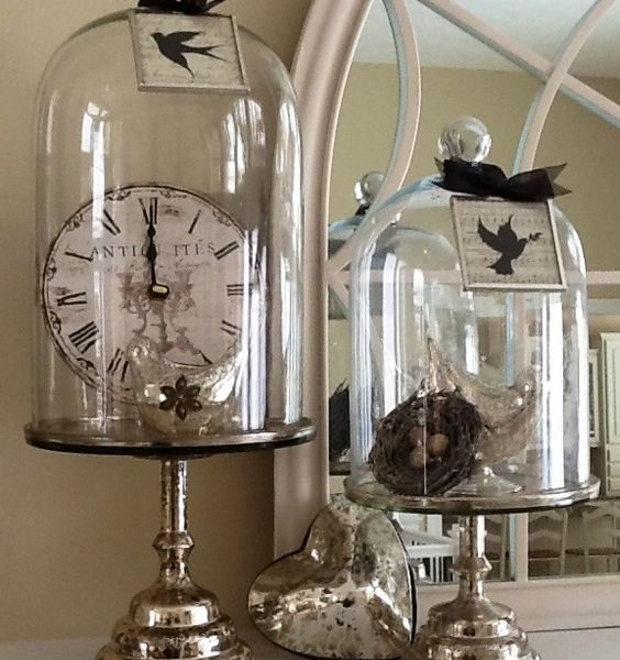 Decorating Ideas For Glass Domes For Christmas