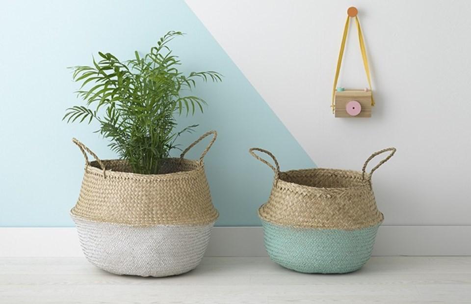 Summer Baskets decoration ideas1