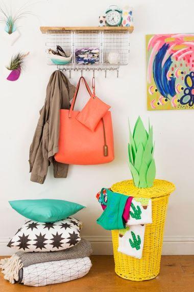Summer Baskets decoration ideas15